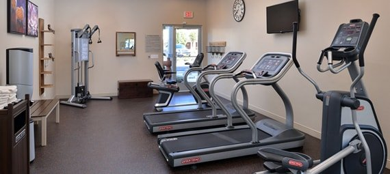 recently added state-of-the-art  fitness center for weight training and cardio